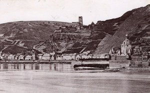 Caub Ruins Gutenfels Germany Rheinlande CC Photo 1897