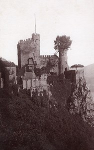 Rheinstein Germany Rheinlande Old Cabinet Card Photo CC 1897