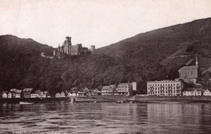 Stolzenfels Germany Rheinlande Old CC Photo 1897