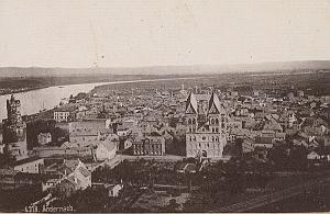 Andernach Panorama Germany Rheinlande Old CC Photo 1897