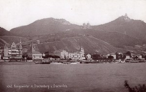 Drachenburg Germany Rheinlande Old CC Photo 1897
