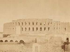 Tunis Amphitheatre Arena Tunisia Garrigues Photo 1880