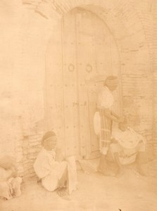 Tunis Arab Street Barber Tunisia Garrigues Photo 1880
