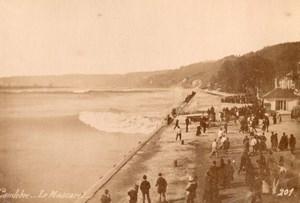 France Caudebec le Mascaret Sea Bore old Photo 1880