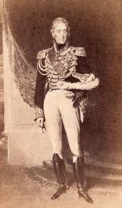 King Charles X History France Old CDV Photo 1865