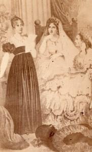 Queen Hortense & Empress History France CDV Photo 1865