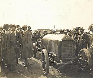 Excelsior Pilot Race Car Christiaens Belgium Photo 1910