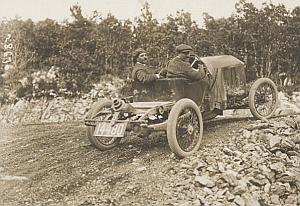 Excelsior Pilot Race Car Christiaens Belgium Photo 1912