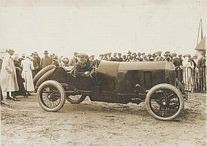 Excelsior Pilot Race Car Christiaens Dieppe Photo 1912