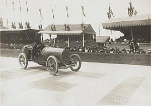 Christiaens, Excelsior Race Car, GP Amiens, Photo 1913