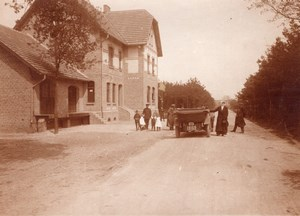 Family Pilot Race Car Christiaens Belgium Photo 1910