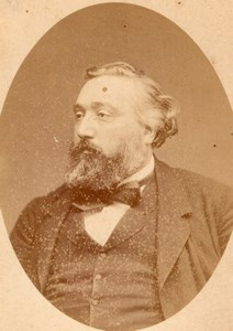 French Stateman Leon Gambetta old CC Photo 1875