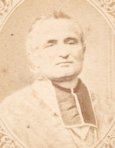 Monseigneur Dupanloup France old CDV Figaro 1875