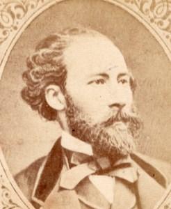 Writer Octave Feuillet France old CDV Figaro 1875