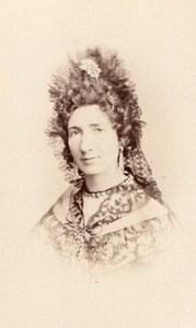 French Actress Jouassin Old Reutlinger CDV Photo 1870