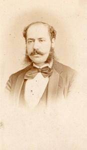 Politician Lebrun France Reutlinger Signed Photo 1870