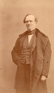 French Actor Marc Beschefer NUMA old CDV Photo 1870