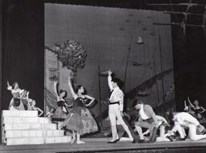 Finland Opera Dance Ballet Paris Bernand Photo 1955