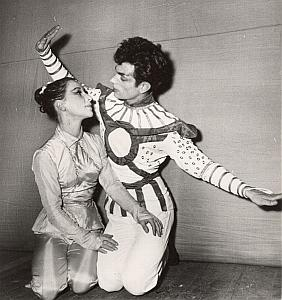 Beograd Opera Dance Ballet Paris Bernand Photo 1955