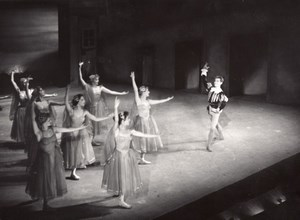 Poland Dance Ballet Mazepa Paris Bernand Photo 1955