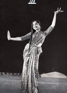 Vijayanthimala Indian Dance Ballet Bernand Photo 1955