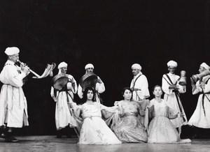 Algeria Folk Dance Ballet Paris Bernand Photo 1965