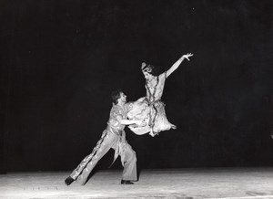 Hungarian Folk Dance Ballet Paris Lipnitzki Photo 1960
