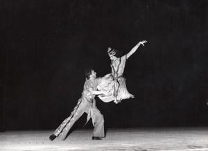 Hungarian Folk Dance Ballet Paris Lipnitzki Photo 1960