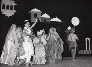 Hindu Folk Dance Ballet Paris Lipnitzki old Photo 1960