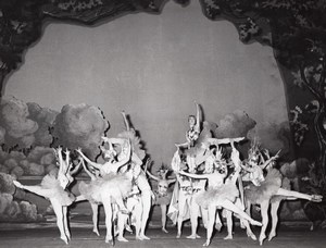 Chatelet Opera Dance Ballet Paris Lipnitzki Photo 1960