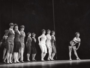 Moscow Music Dance Ballet Paris Lipnitzki Photo 1960