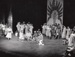 Madagascar Dance Ballet Paris Lipnitzki Photo 1960