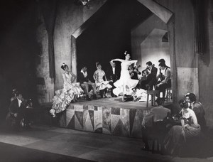 Pilar Lopez Spanish Flamenco Ballet Paris Lipnitzki Photo 1960
