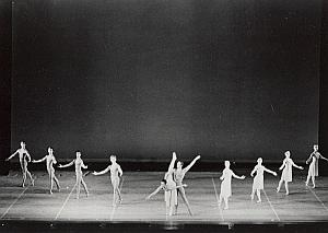 Balanchine Choreography Canada Dance Ballet Photo 1969