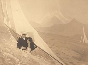 France Humoristic Sailor old Photomontage Photo 1930