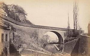 Napoleon Bridge Trier Germany Old Frith's Photo 1880