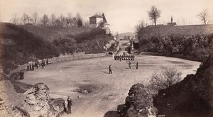 Amphitheater Animated Trier Germany Frith's Photo 1880