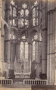 ND Church Interior Trier Germany Old Frith's Photo 1880