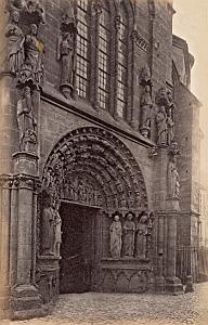 ND Church Facade Trier Germany Old Frith's Photo 1880