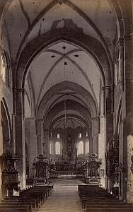 Cathedral Interior Trier Germany Old Frith's Photo 1880