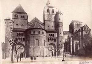 Cathedral Place Trier Germany Old Frith's Photo 1880