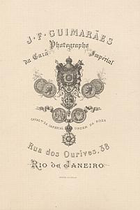 Photography Studio Guimaraes Card Publicity Brazil 1870