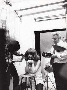 Woman Fashion Rossignol Studio Photo Paris France 1960
