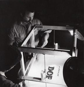 Dop Publicity Advert Shoot Studio Rossignol Photo 1960