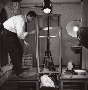 Publicity Advert Shooting Studio Rossignol Photo 1960