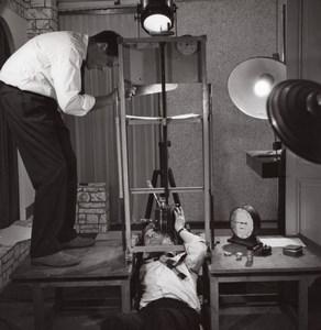 Publicity Advert Shooting Studio Rossignol Photo 1960