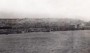 Panorama Algiers Harbour Sea Front Algeria Photo 1925