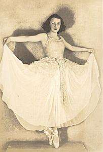Dance Woman Fashion Arcachon France old Photo 1930