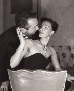 Jewelry Model Fashion Seduction France old Photo 1960