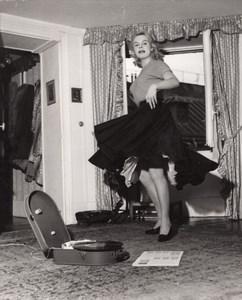 Teppaz Dance Model Fashion France old Photo 1960